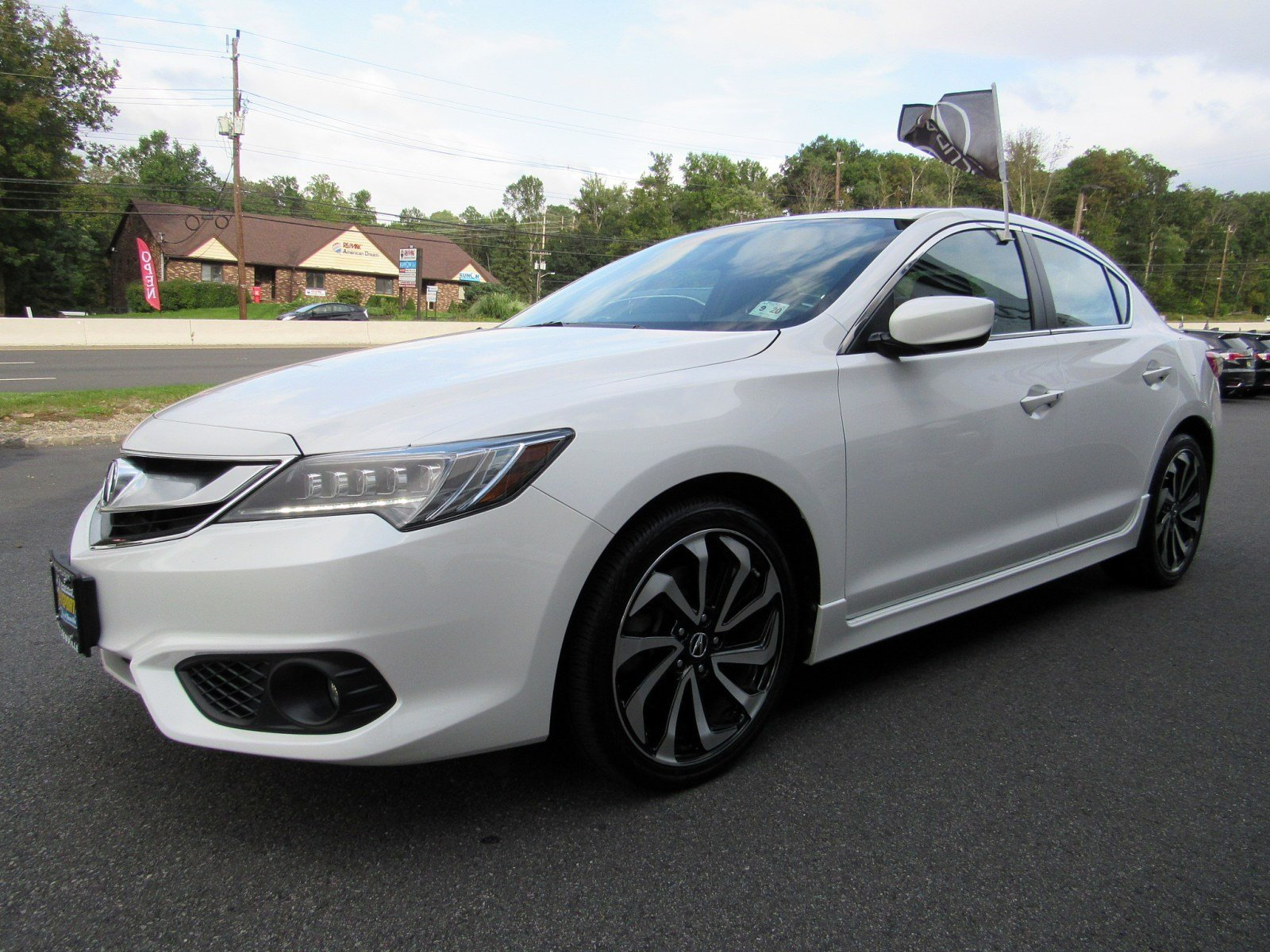 Certified Pre Owned 2016 Acura ILX with Premium and A SPEC Package