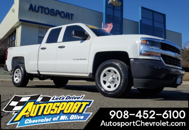 Pre Owned 2016 Chevrolet Silverado 1500 4wd Double Cab Work Truck