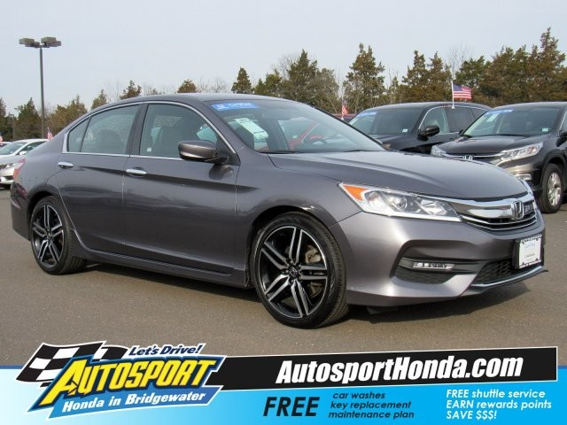 pre owned 2016 honda accord sedan sport sedan in denville u9240h rh acuraofdenville com