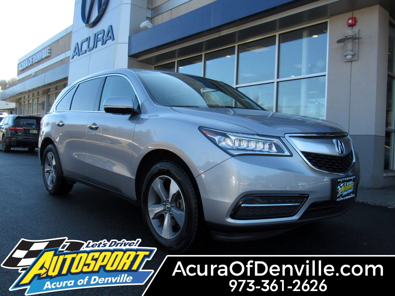 Certified Pre Owned 2016 Acura Mdx Sh Awd
