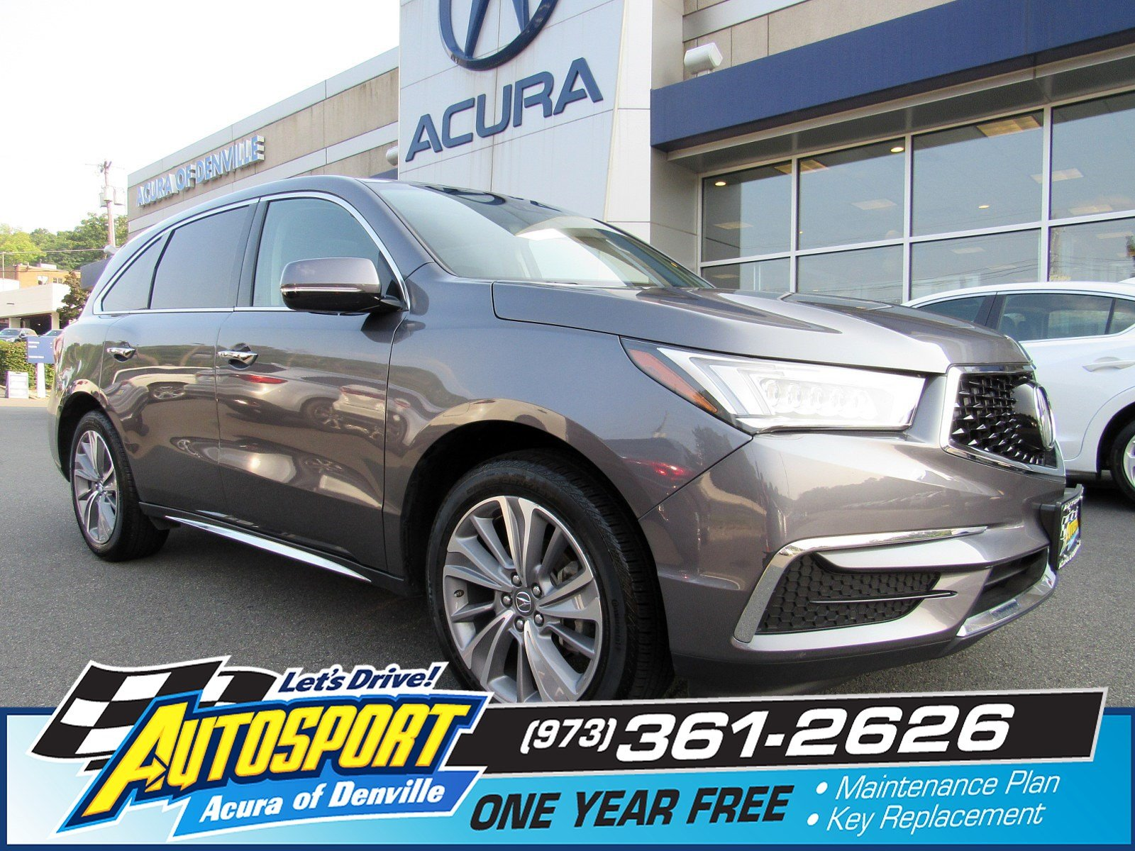 Certified PreOwned Acura MDX SHAWD With Technology Package - Acura mdx tires