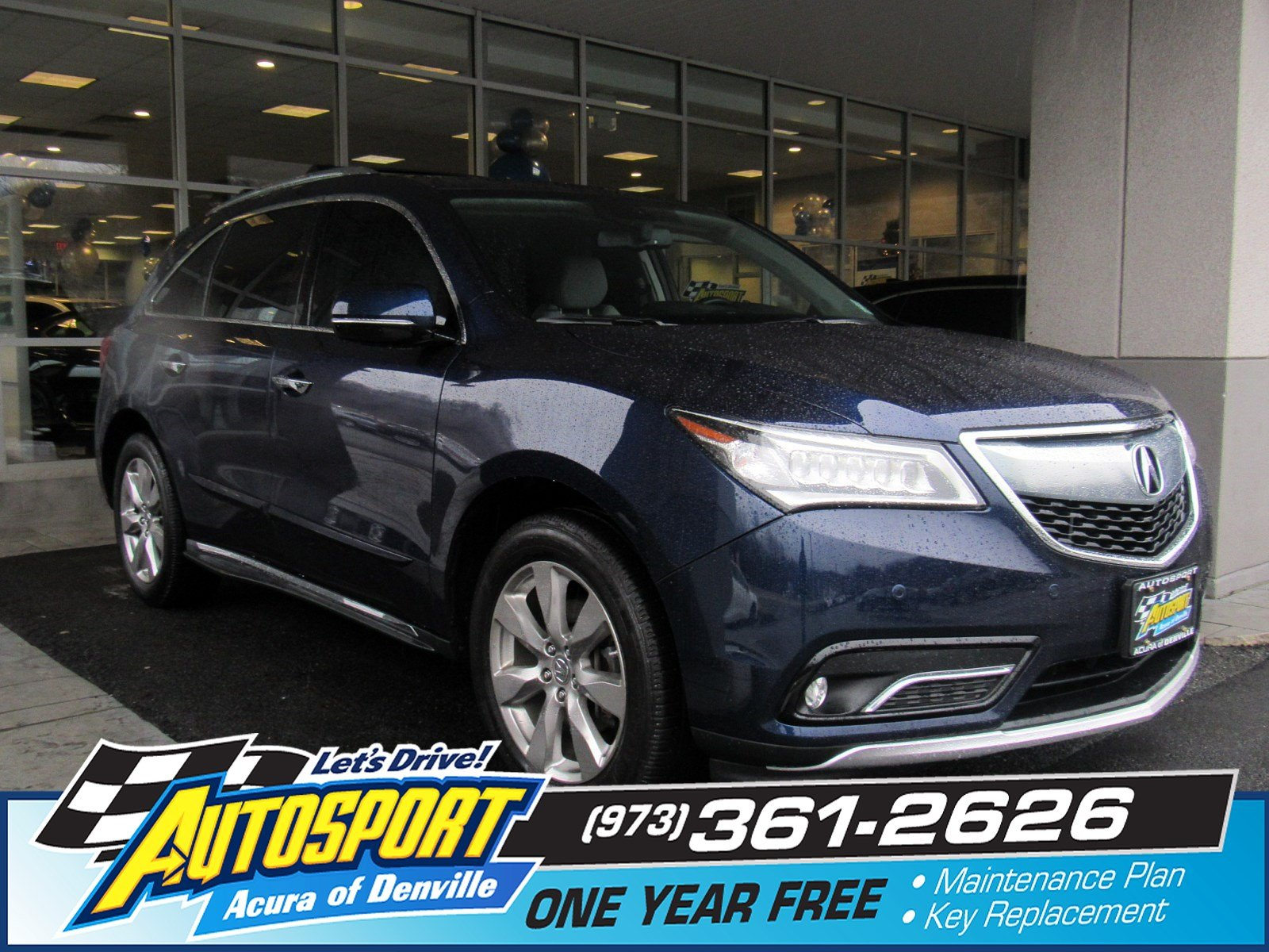 Certified Pre-Owned 2014 Acura MDX SH-AWD with Advance and Entertainment Packages