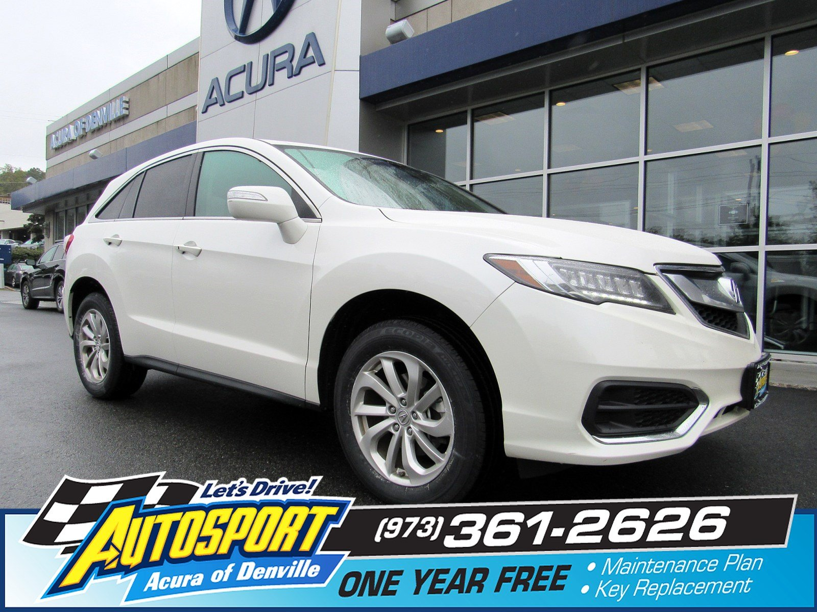 Certified Pre Owned 2016 Acura RDX AWD Sport Utility in Denville