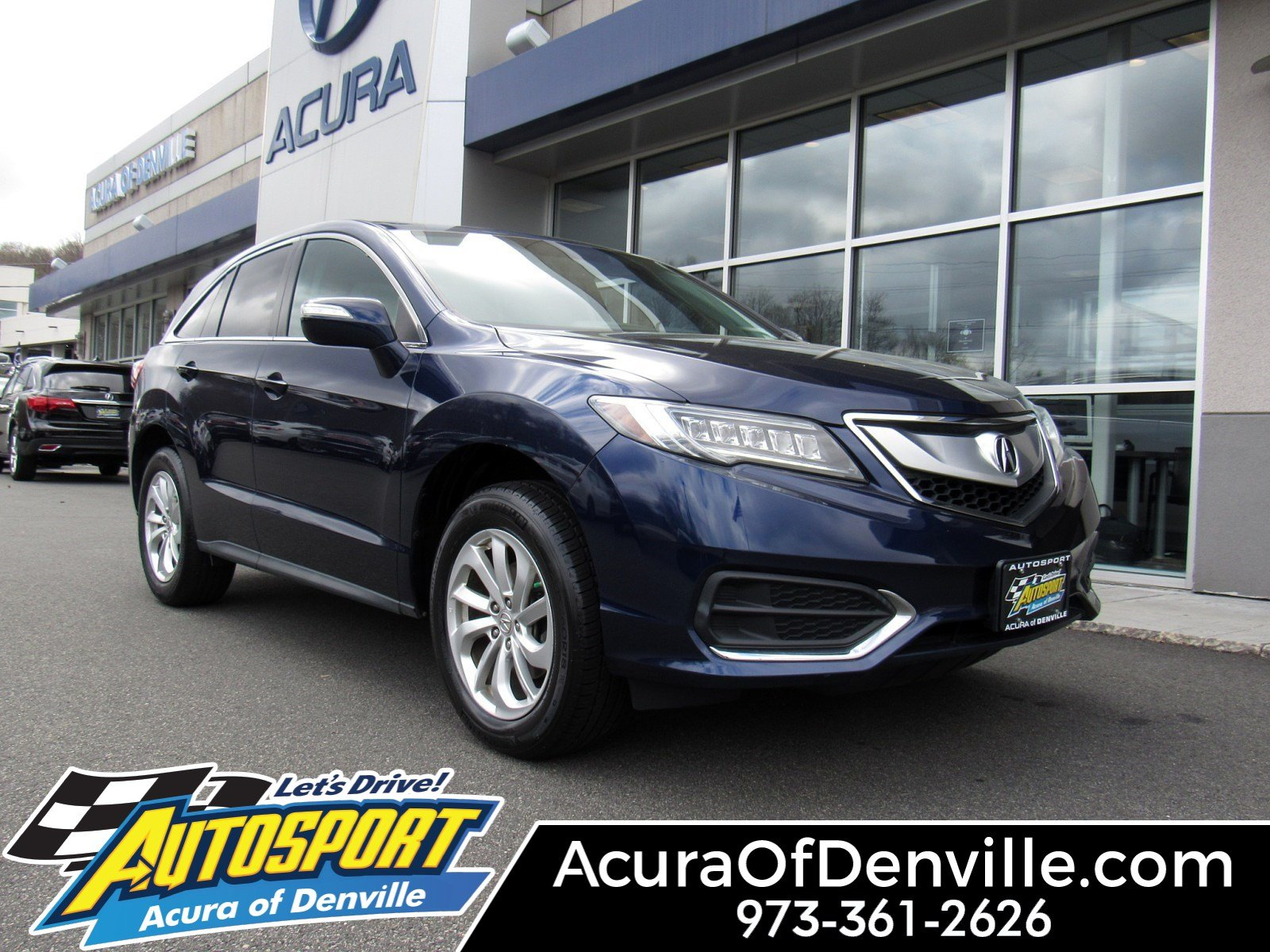 Certified Pre Owned 2016 Acura Rdx Awd With Technology Package Sport Utility In Denville U9927 Autosport Of