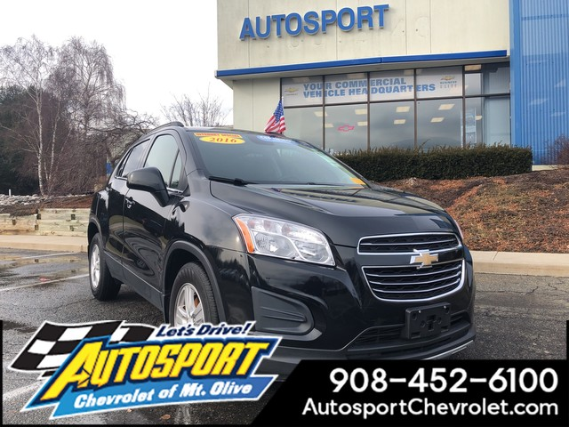 Pre Owned 2016 Chevrolet Trax 4dr Lt Suv In Denville U00402