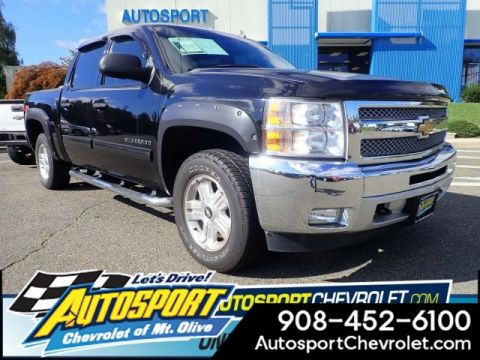 Pre-Owned 2013 Chevrolet Silverado 1500 4WD Crew Cab LT Z71 ALL STAR